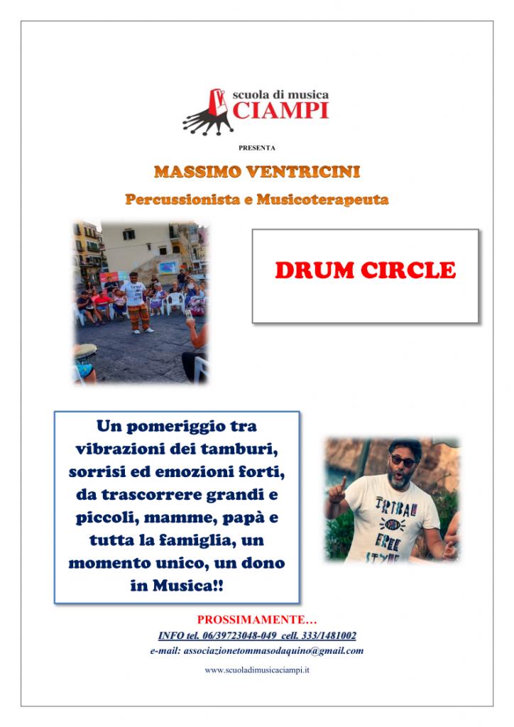 Percussioni Drum Ventricini Scuola di Musica Ciampi