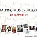 Talking Music -Pillole